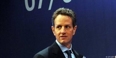 """Laut Geithner ist Finanzsektor """"noch beschädigt"""""""