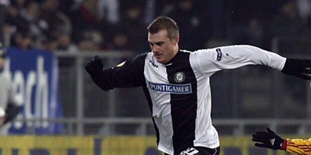 3 Lavric-Tore bei 4:0 von Sturm gegen Mattersburg