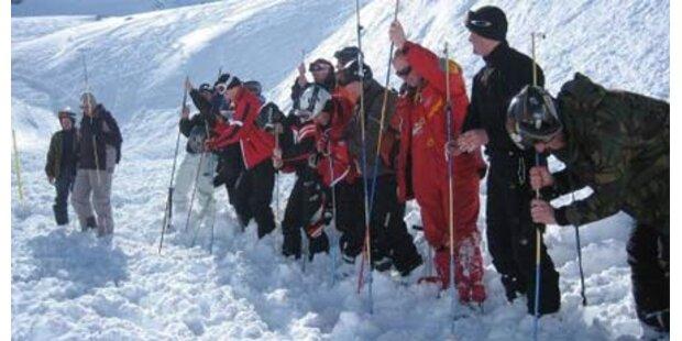 Riesenlawine im Skigebiet Hinterstoder