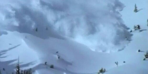 Lawinengefahr in Vorarlberg groß