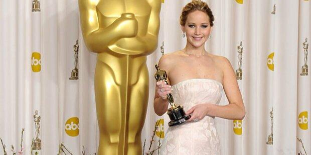 Lawrences doppelter Einsatz bei Oscars