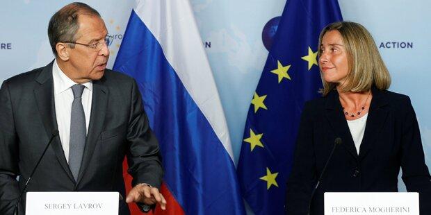 EU und Russland wollen wieder mehr miteinander reden