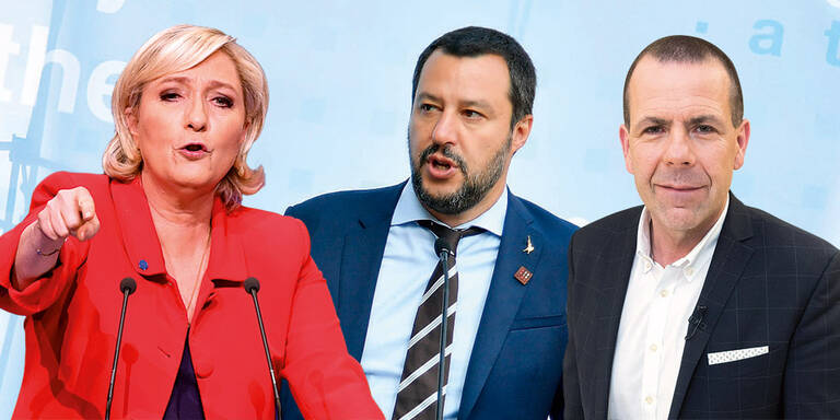 Rechte EU-Allianz gegen Merkel/Macron