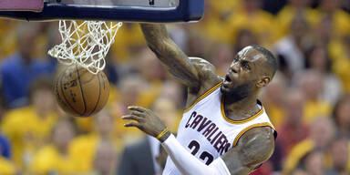 Rekord-Vertrag für LeBron James