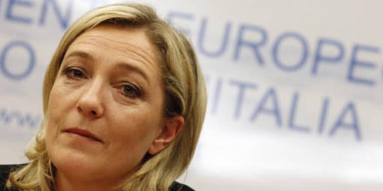 Präsidentschaftskandidatin Marine Le Pen