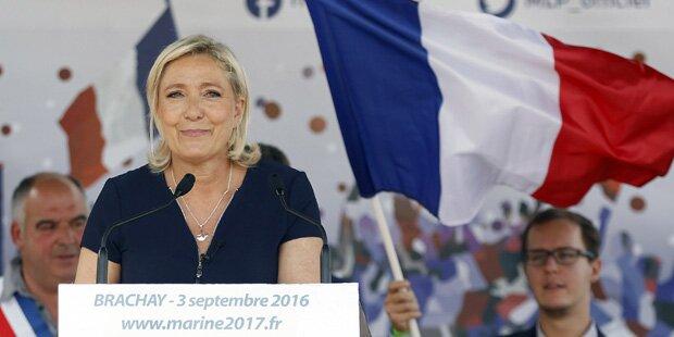 Le Pen will Volksabstimmung über EU-Austritt