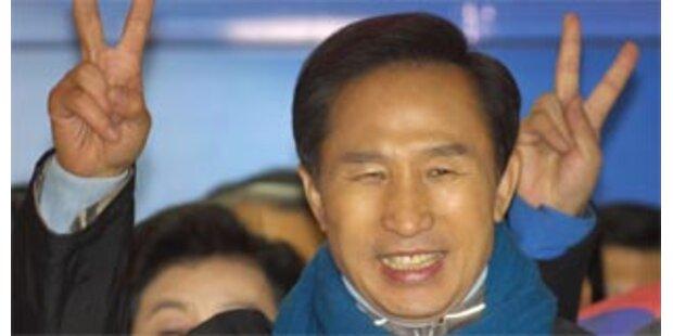 Lee wird wahrscheinlich Südkoreas neuer Präsident