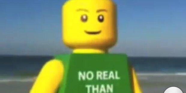Rätselraten um mysteriösen Lego-Mann