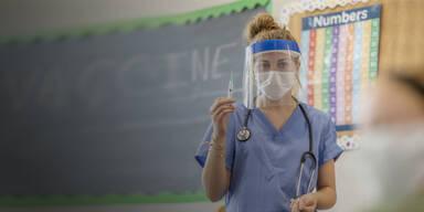 Viele Lehrer zum Schulstart ohne Impfung