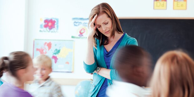 20% der Lehrer vor dem Kollaps