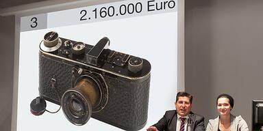 Rekord: Leica um 2,16 Mio. Euro versteigert