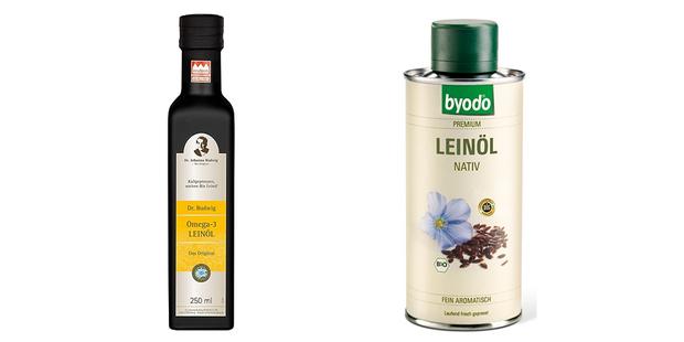 Leinöle - Test & Vergleich