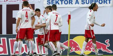 Leipzig: Bullen drehen verrücktes Match