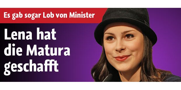 Lena Meyer-Landrut hat die Matura