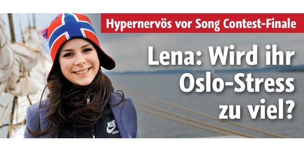 Lena: Wird ihr der Oslo-Stress zu viel?