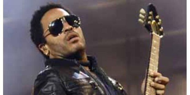 Lenny Kravitz nahm in Wien Obama-Hymne auf!