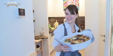 Leserküche: Florentina kocht Huhn auf Frühlingsgemüse