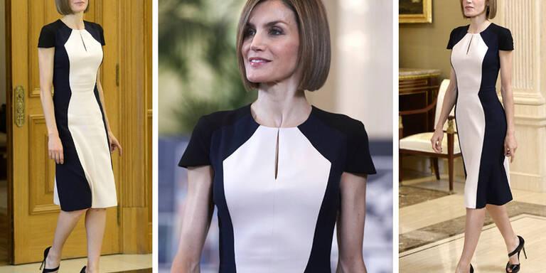 So zaubert Königin Letizia weibliche Kurven