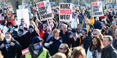 Demo Welle in ganz Österreich