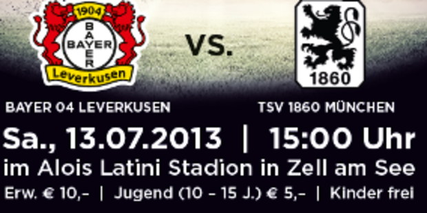 Bayer 04 Leverkusen bittet zum Freundschaftsspiel