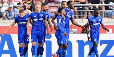 Leverkusen holte bei Stuttgart 3. Saisonsieg