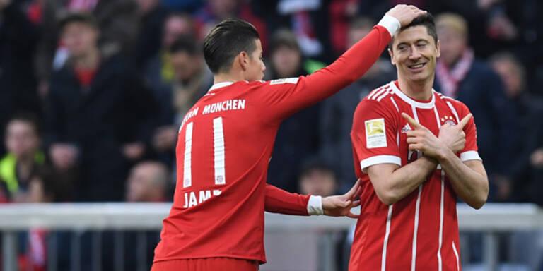 Bayern Dortmund 6:0