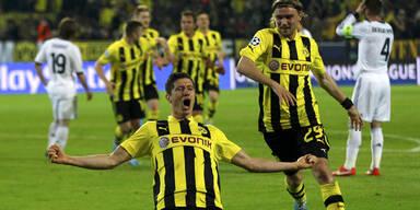 4:1! Lewandowski-Gala gegen Real Madrid