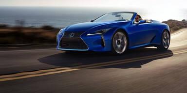 Lexus greift mit dem LC Cabrio an