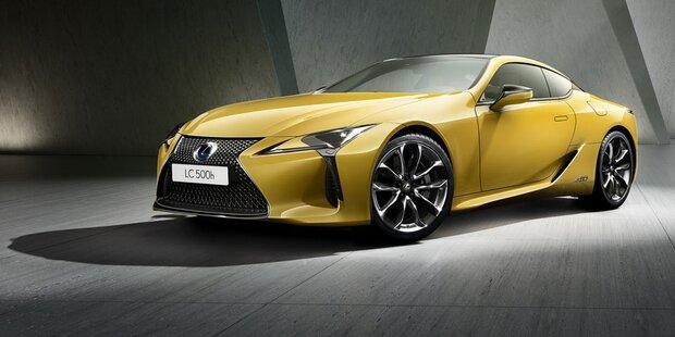 Lexus LC kommt als Yellow Edition