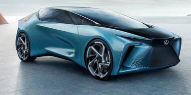 Elektrischer Luxus-Gleiter von Lexus
