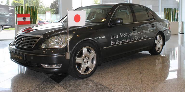 Heinz Fischers Dienstauto auf Abschiedstour