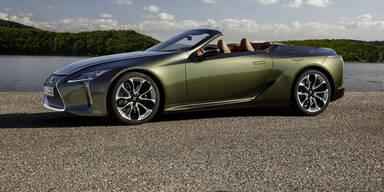 Neues Lexus LC Cabrio ab sofort bestellbar