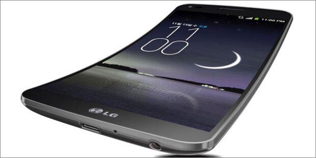 Gebogenes Smartphone kommt nach Europa