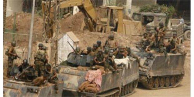 200 Islamisten im palästinensischen Lager getötet