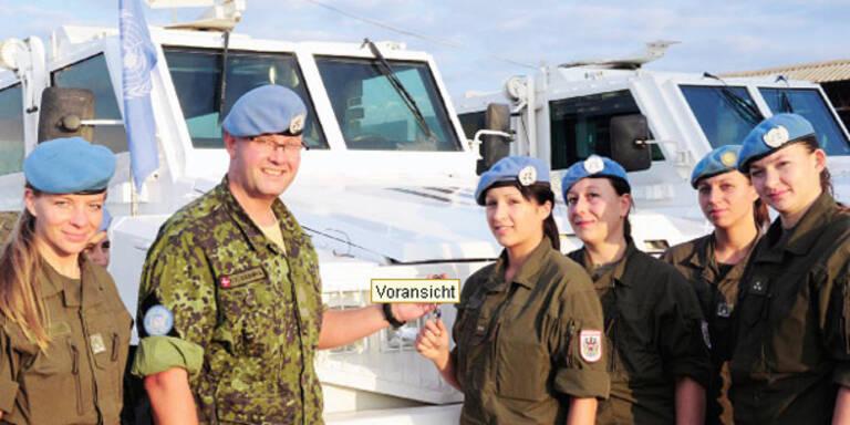 Minen statt Christkind für UNO-Soldaten