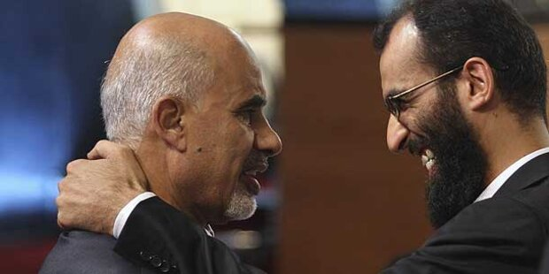 Libyen: Magarief jetzt Übergangspräsident