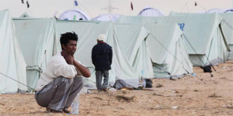 Hungerstreik bei tunesichen Flüchtlingen