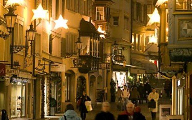 Ganz Zürich ist ein Weihnachtsmarkt