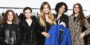 Heidi Klum macht Mode für Lidl