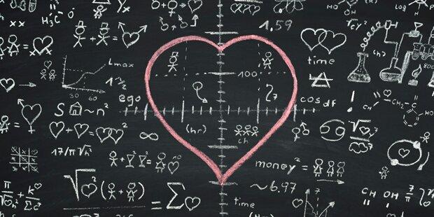Diese Formel berechnet Ihr Liebesglück