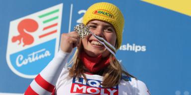 Ski-WM: Liensberger holt sensationell Bronze