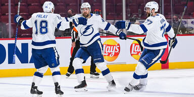 Tampa Bay Lightning jubelt gegen Montreal
