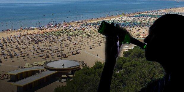 Alk-Exzess: Österreicher in Lignano schwer verletzt