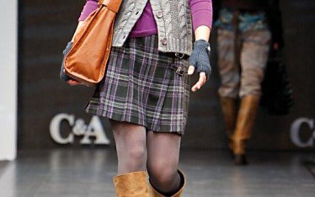 Wollige Mini-Röcke im Trend