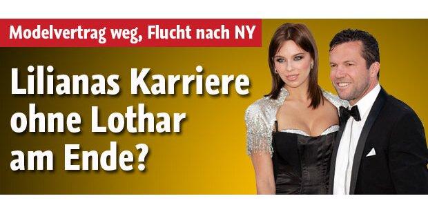 Lilianas Karriere ohne Lothar vorbei?