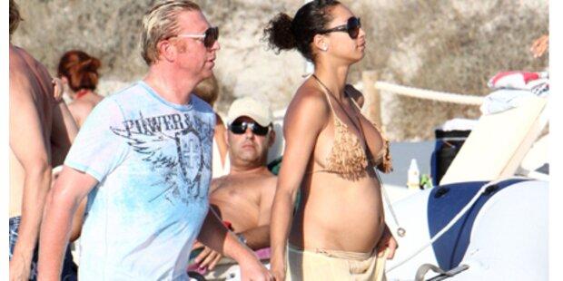 Ist Lilly bereits im 6. Monat schwanger?