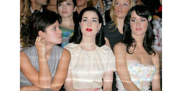 Zickenkrieg! Lily Allen sauer auf Katy Perry