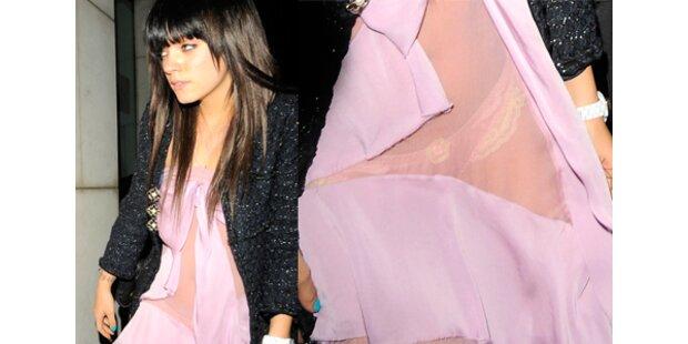 Liebe Lily Allen, ist das wirklich ein Kleid?