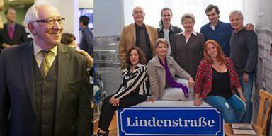 Dieter Hallervorden und Lindenstraße