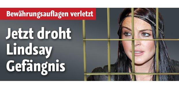 Lindsay Lohan: Jetzt droht das Gefängnis
